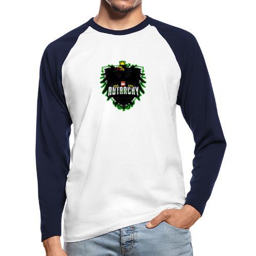 AUTarchy green - Männer Baseballshirt langarm