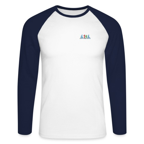 atsalogolarge - Men's Long Sleeve Baseball T-Shirt