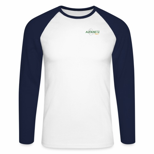 Alpanetz Logo Sport - Männer Baseballshirt langarm
