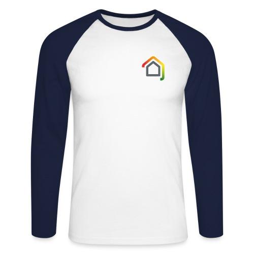 8b - Männer Baseballshirt langarm