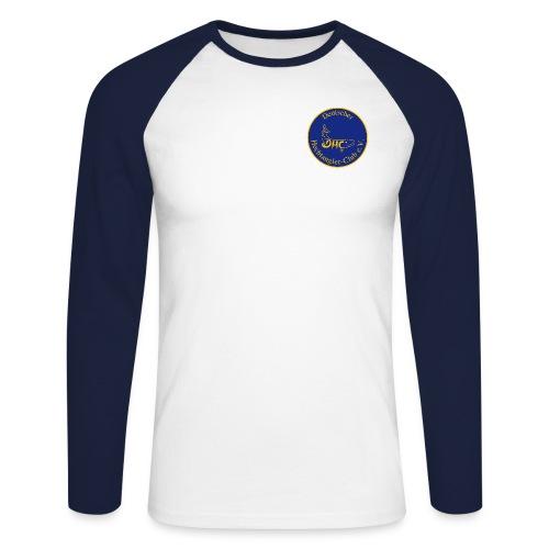 dhclogorundvectorvorschau - Männer Baseballshirt langarm