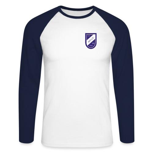 djk logo freigestellt kopie - Männer Baseballshirt langarm
