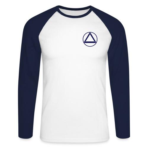 circle_light - Männer Baseballshirt langarm