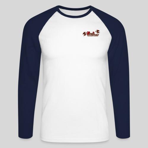 amoros + engel - Männer Baseballshirt langarm