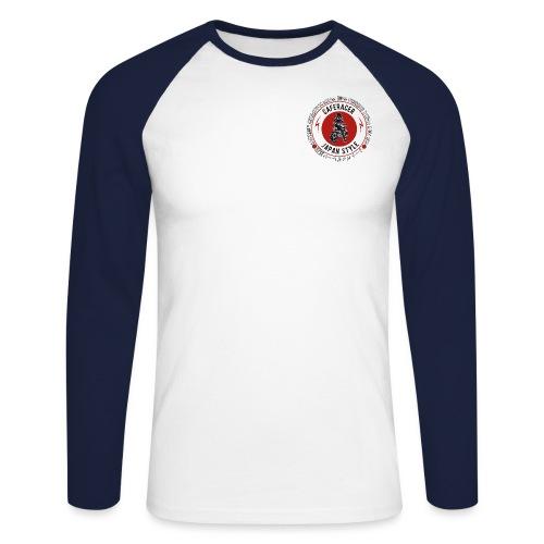 Japan style - Men's Long Sleeve Baseball T-Shirt
