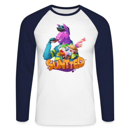 Suntted Confiseries - T-shirt baseball manches longues Homme