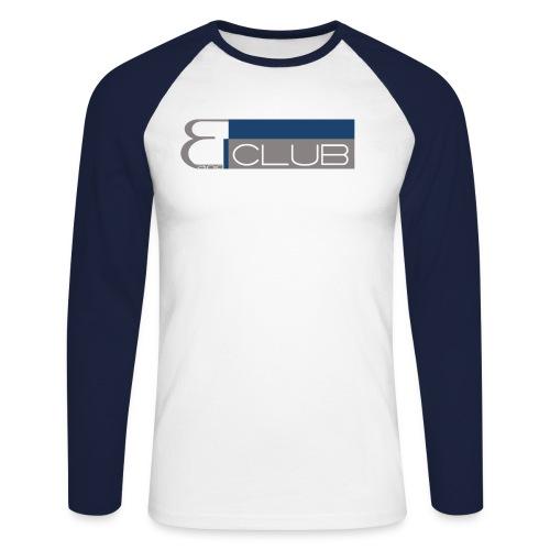 clublogo - Männer Baseballshirt langarm