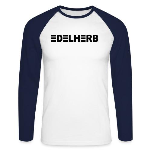 edelherb - Männer Baseballshirt langarm