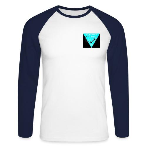 P Mammuts Logo - Männer Baseballshirt langarm