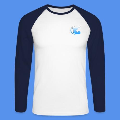 YT Logo - Men's Long Sleeve Baseball T-Shirt