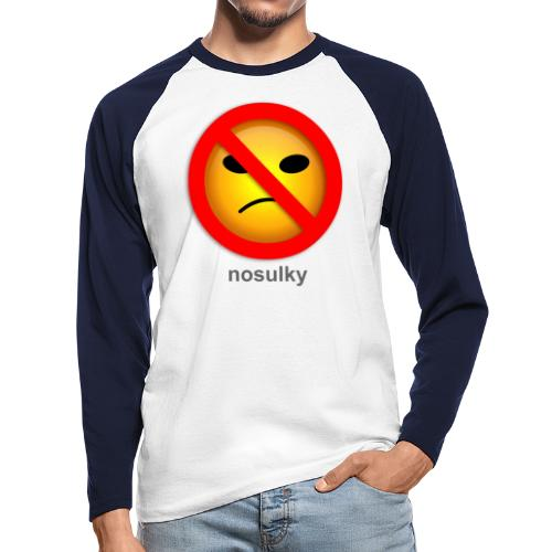 nosulky - T-shirt baseball manches longues Homme