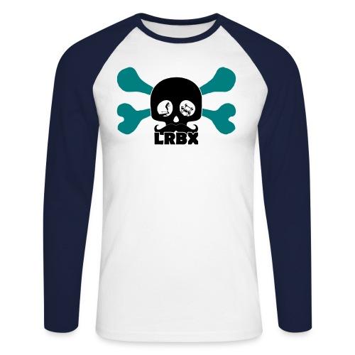 LRBX_Skull_Design by Mata7ik.com - T-shirt baseball manches longues Homme