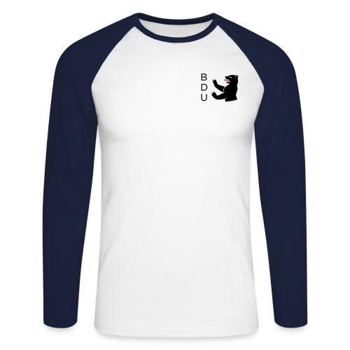 bdu_logo_2013 (quadratisc - Männer Baseballshirt langarm