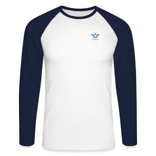 calibre png - Männer Baseballshirt langarm