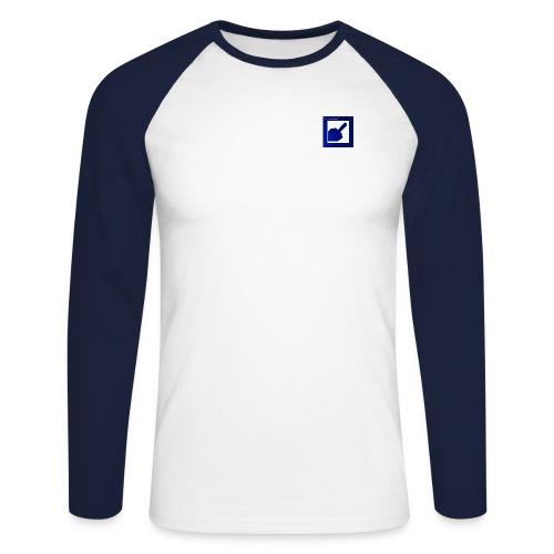 narrlogoleistung - Männer Baseballshirt langarm