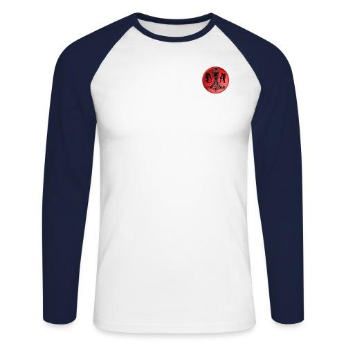 Logo Dragossido Academy - Men's Long Sleeve Baseball T-Shirt