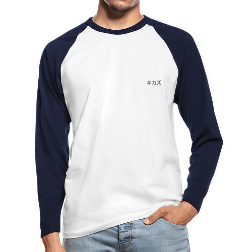 KikaZ noir japonais - Cineraz - T-shirt baseball manches longues Homme