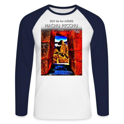 SOY de los ANDES - Machu Picchu II - T-shirt baseball manches longues Homme