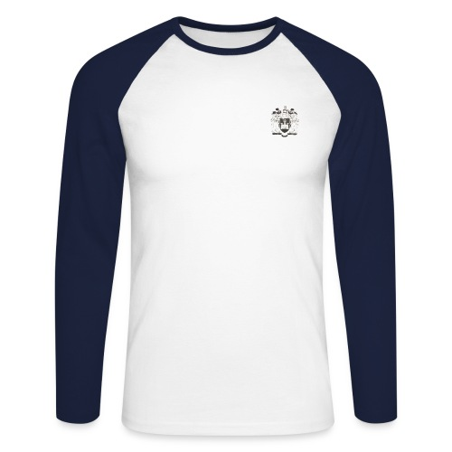 Warriors png - Men's Long Sleeve Baseball T-Shirt
