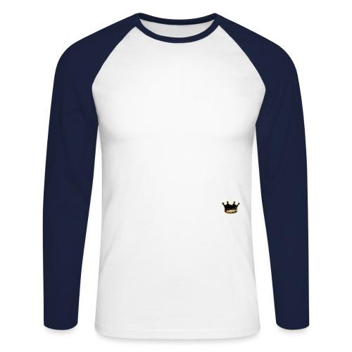 LK LOGO - Men's Long Sleeve Baseball T-Shirt