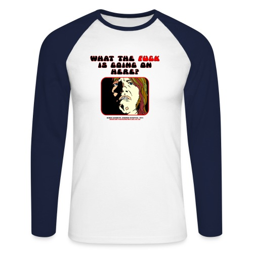 wtf1 - Men's Long Sleeve Baseball T-Shirt