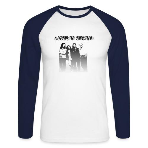 aic - Men's Long Sleeve Baseball T-Shirt