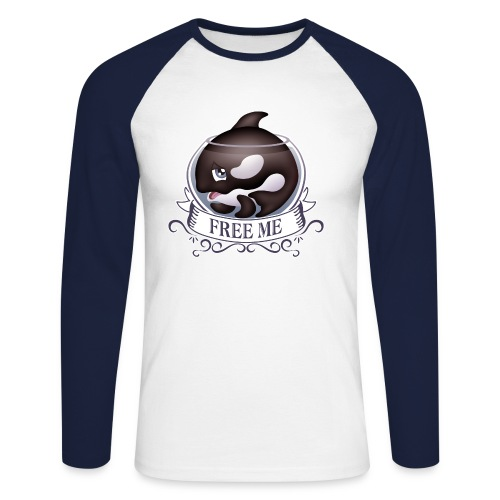 Free me - T-shirt baseball manches longues Homme