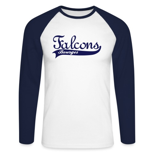 Falcons Bourges - T-shirt baseball manches longues Homme