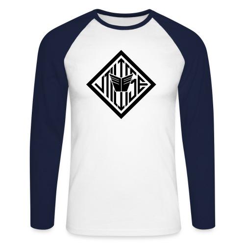 Utilitise Logo - Men's Long Sleeve Baseball T-Shirt