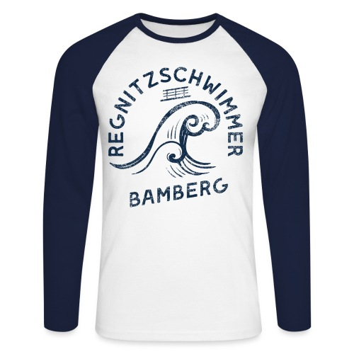 Regnitzschwimmer - Männer Baseballshirt langarm