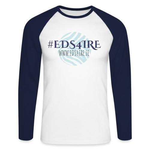 #EDS4IRE main - Men's Long Sleeve Baseball T-Shirt