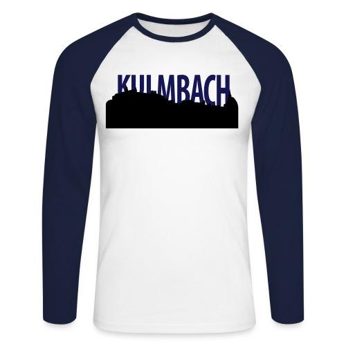 skyline_ku_schrift - Männer Baseballshirt langarm