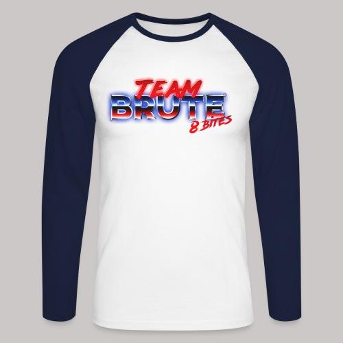 Team BRUTE Red - Men's Long Sleeve Baseball T-Shirt