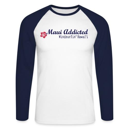 IHibiscusMaui - Men's Long Sleeve Baseball T-Shirt