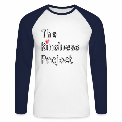 The kindness project - Men's Long Sleeve Baseball T-Shirt
