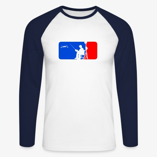 ML FPV Quad - Men's Long Sleeve Baseball T-Shirt