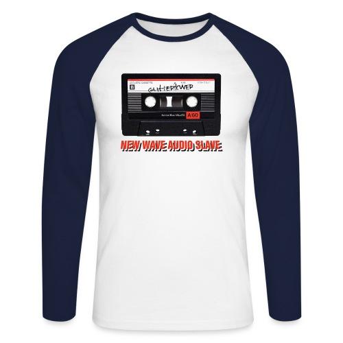 Audio Slave - Men's Long Sleeve Baseball T-Shirt