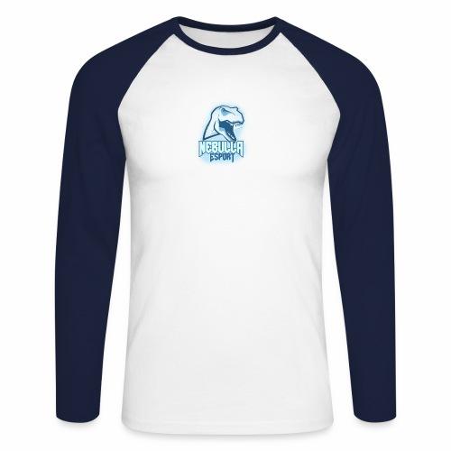 Nebulla - T-shirt baseball manches longues Homme