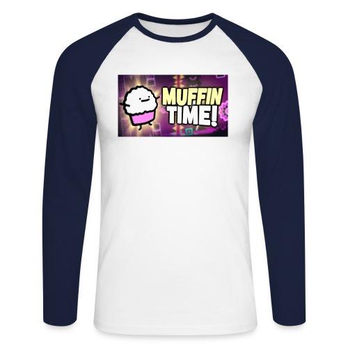 Its Muffin Time 2 - Männer Baseballshirt langarm