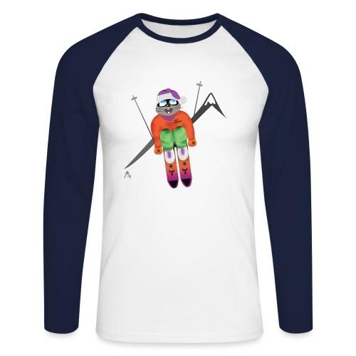 skitous png - T-shirt baseball manches longues Homme