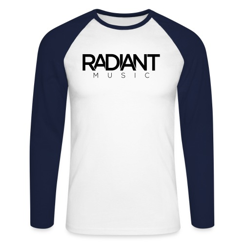RadiantMusic Small - Men's Long Sleeve Baseball T-Shirt