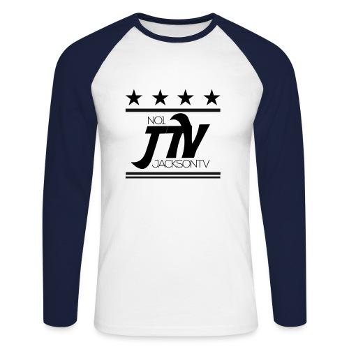 Motiv2 png - Männer Baseballshirt langarm