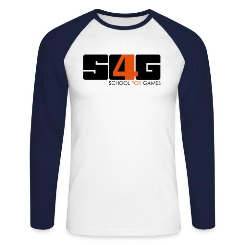 s4g logo v final - Männer Baseballshirt langarm