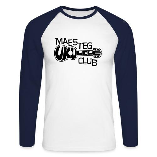 logoborder3 png - Men's Long Sleeve Baseball T-Shirt