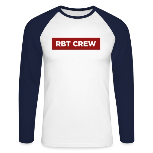 Reste Bien Tranquille ! - T-shirt baseball manches longues Homme