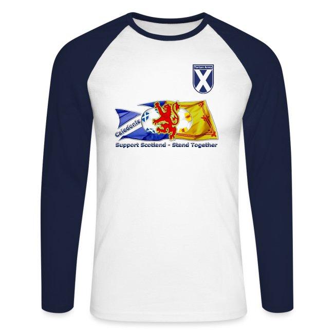 Teenagers Teen Boy Lion Rampant Scotland Scottish Printed Long Sleeve 100/% Cotton Tops