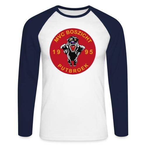 logomvc2011 - Mannen baseballshirt lange mouw