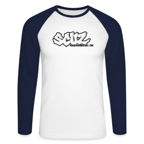Rough Type - Men's Long Sleeve Baseball T-Shirt