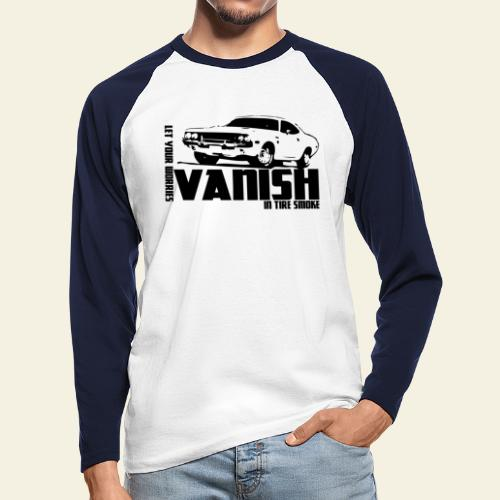 vanish - Langærmet herre-baseballshirt