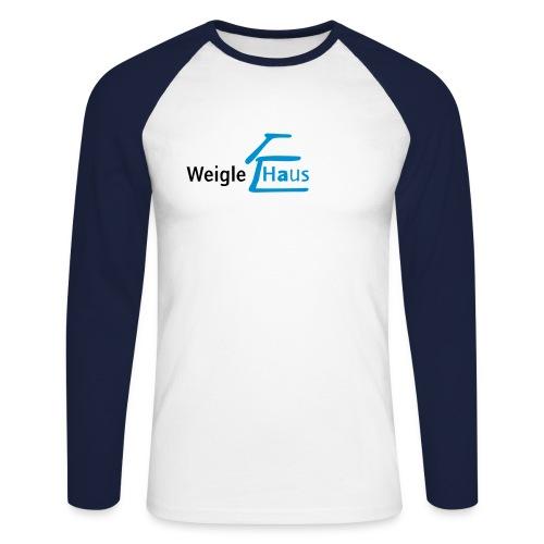 whlogo - Männer Baseballshirt langarm